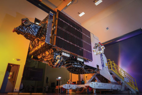 new-spot-beam-antennas-boost-communication-satellites'-bandwidth