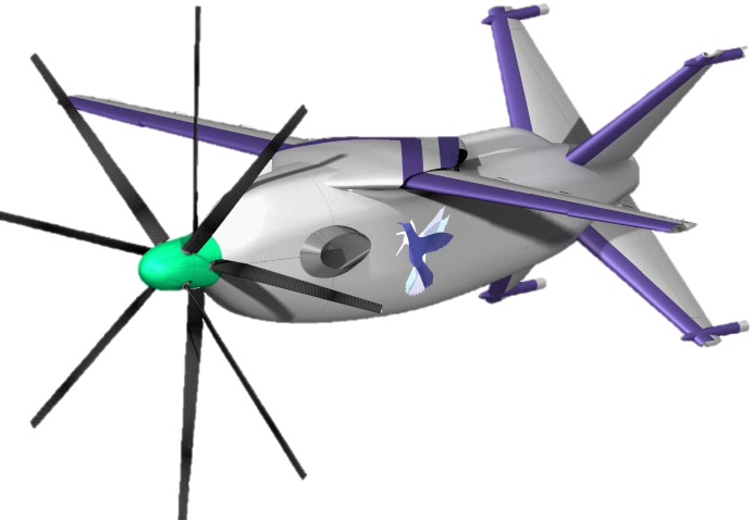 Metaltail, autonomous coaxial-proprotor swing-wing tailsitter