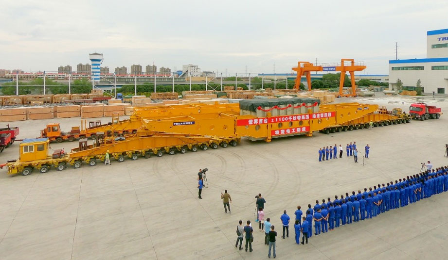 China's TBEA set up manufacturing in Xinjiang to ease delivery of the giant transformers State Grid required