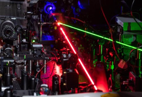 laser-pulse-creates-frequency-doubling-in-amorphous-dielectric-material