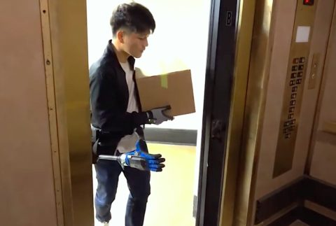 video-friday:-robotic-third-hand-helps-you-with-elevators,-handshakes