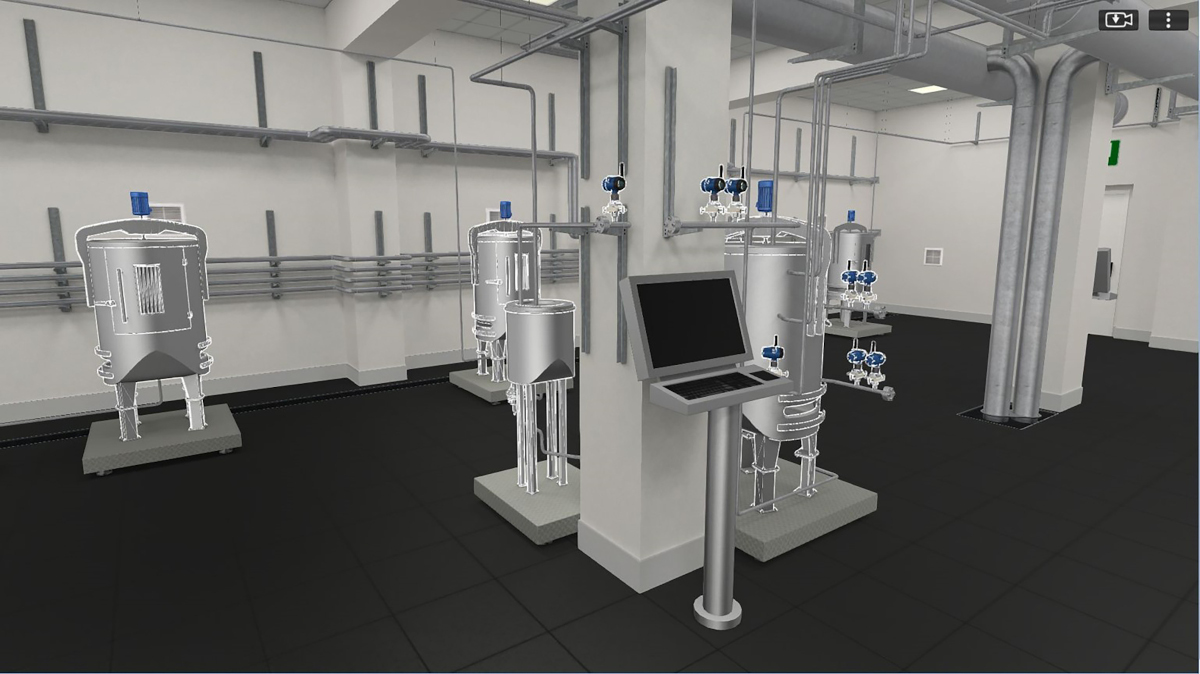 Figure 3: Life sciences organizations are leading the way with advanced technologies such as digital twin simulation, which lets operators run tests on a virtual environment to see how planned changes will resonate before implementing them in the real world. Courtesy: Emerson