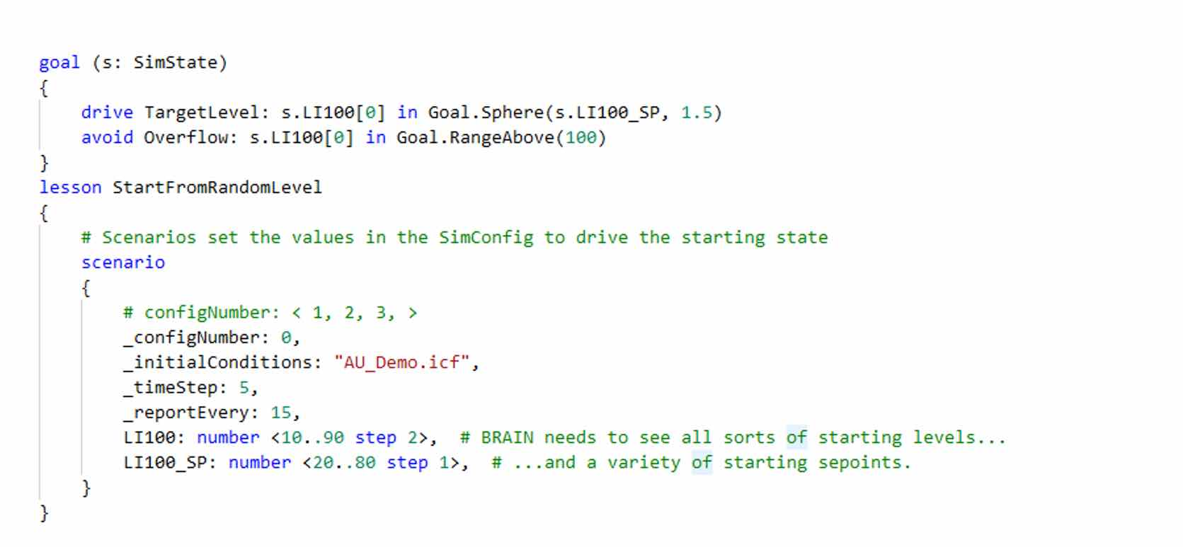 Figure 5: This is user-created code needed to create an artificial intelligence (AI) brain. Courtesy: Wood, Microsoft
