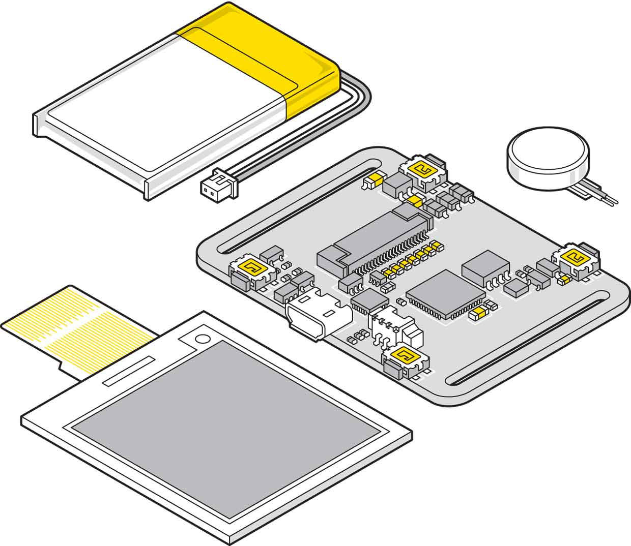 Illustration of the components.