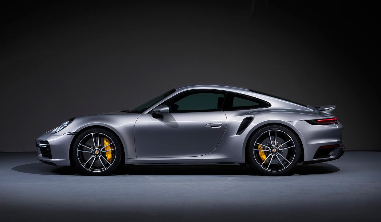 Image of the 2021 Porsche 911 Turbo S.