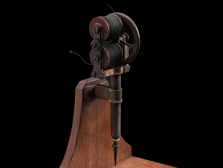 Original model of Edison's patent electric preparatory pen for preparing stencils.