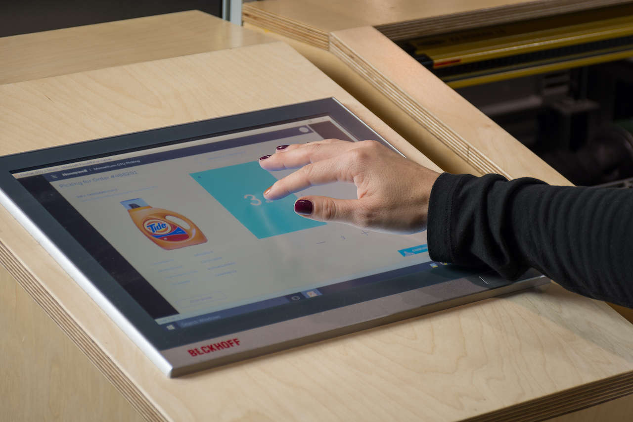 Multi-touch Control Panels from Beckhoff provide the optimal HMI hardware for diverse intralogistics solutions. Courtesy: Beckhoff