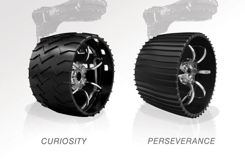 Rover wheel comparison