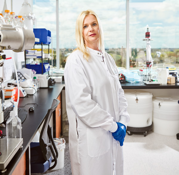 Image of Kate Broderick, Inovio's senior vice president of R&D.