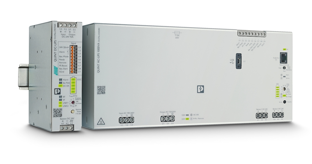 Figure 1: With the widespread implementation of IIoT and big data in industrial applications, reliable power is more important than ever. Choosing the right UPS system for an application can prevent the problems and costs that a power interruption can cause. Courtesy: Phoenix Contact