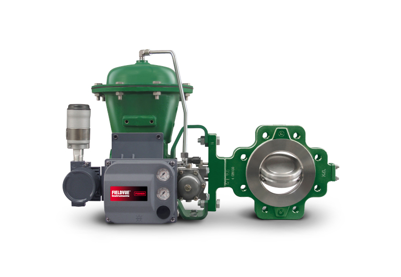 Figure 1: Smart positioners, like this Fisher FIELDVUE DVC6200, employ an array of sensors to detect air, actuator, packing, and valve problems well in advance of total valve failure. Courtesy: Emerson