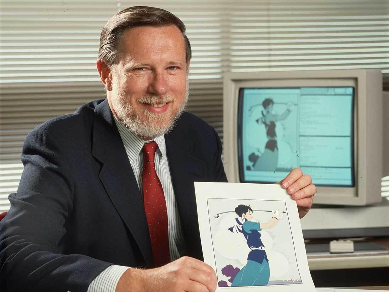 Photo of Charles M. Geschke